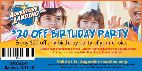 Discount coupons st augustine attractions