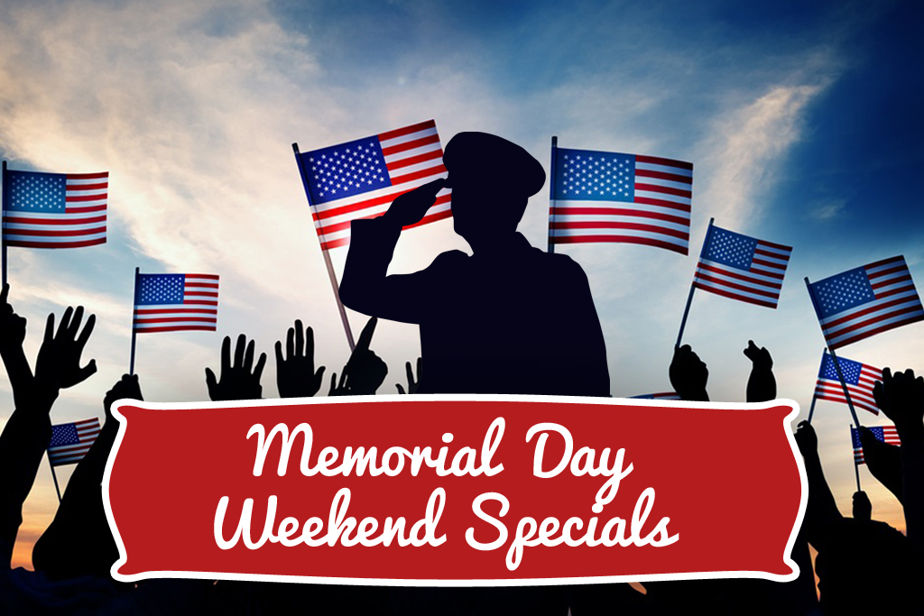 Memorial Day Weekend Specials St Augustine